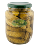 /ContentPickled Gherkins (3-6cm) 540ml